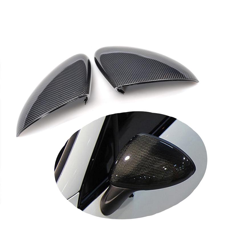 Noir M.JVisun Coque de protection en fibre de carbone v/éritable pour Porsche 718 911 918 Panamera Macan Cayenne Boxster Cayman Porte-cl/és de voiture intelligent