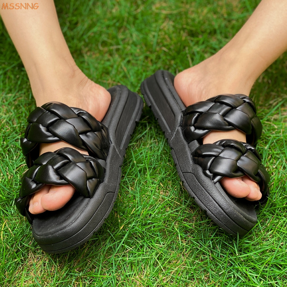 Comfort Slide Slippers with Elastic Soft Footbed for Home Summer Beach SOVH Men and Women Casual Sandals