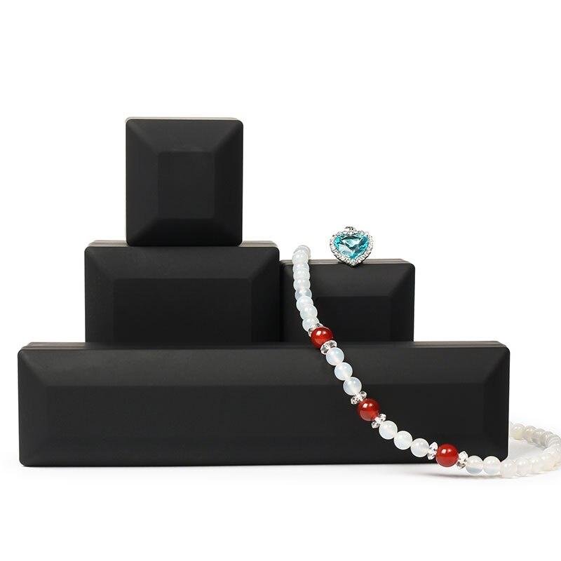 Шкатулка со светодиодным светильником для помолвки, свадьбы, кольца, праздничная коробка, день рождения, Ювелирное кольцо, ожерелье, дисплей, подарочные коробки