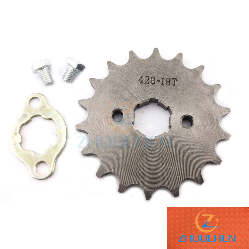 Racing 14T 15T 16T 17T 18T Gear Set GY6 125CC 150CC ATV Quad Buggy Scooter Parts