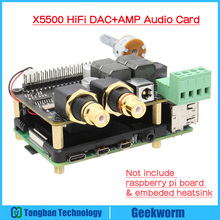 Board Raspberry Pi Hifi Expansion 4-Model for 4-x5500/Hifi/Dac/Amp Audio-Card-Support