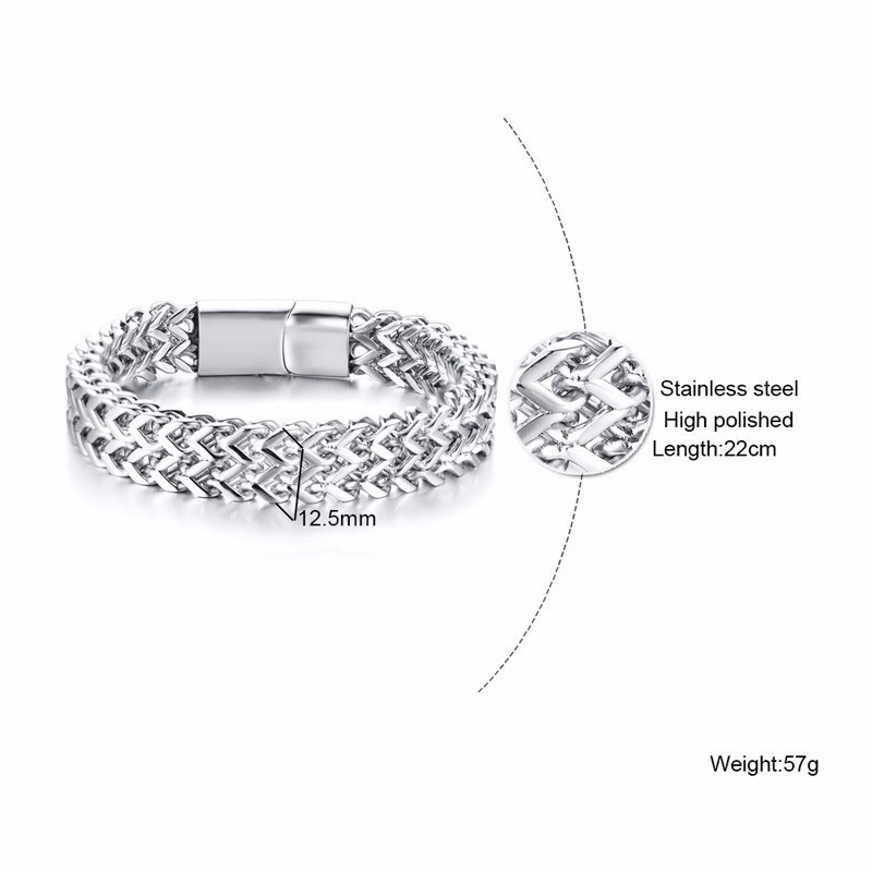 Vnox-Punk-12-5mm-Wave-Link-Chain-Bracelets-for-Men-Silver-Stainless-Steel-Never-Fade-Wristband (3)