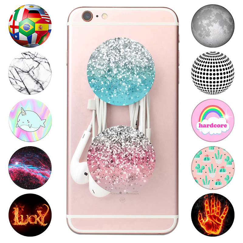 Shining-Socket Gadgets Grip Phones Colored Expanding-Stand Universal for Samll Drawing title=