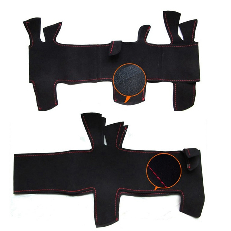 GNUPME-Black-DIY-Hand-Stitched-Suede-Steering-Wheel-Cover-for-BMW-E90-325i-330i-335i-Car (1)