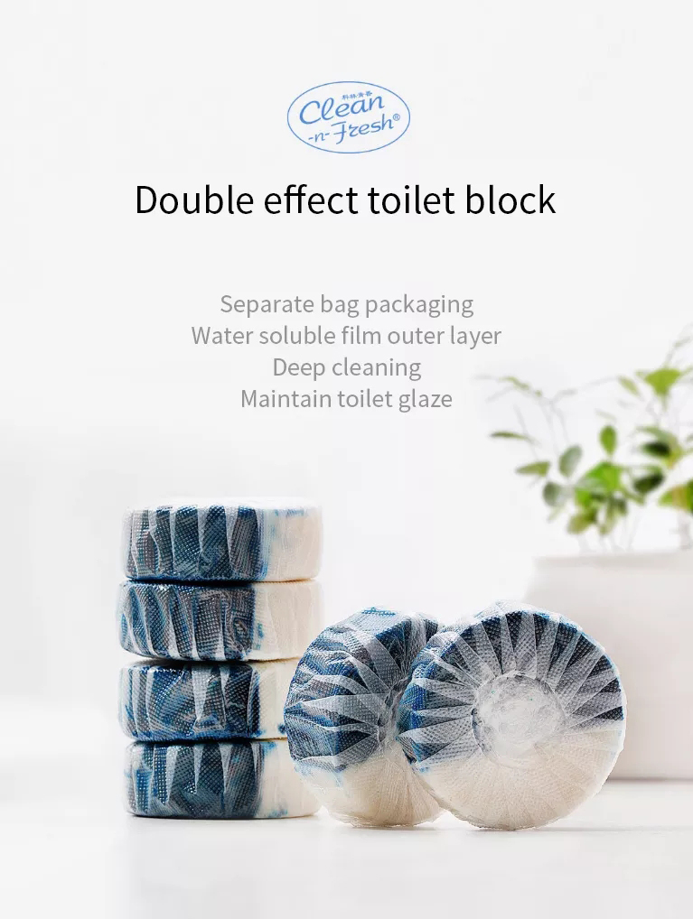 Xiaomi Clean-n-Fresh Automatic Flush Blue Bubble Toilet Cleaner Deodorization Cleaning Household for Bathroom Restroom Cleaner (1)