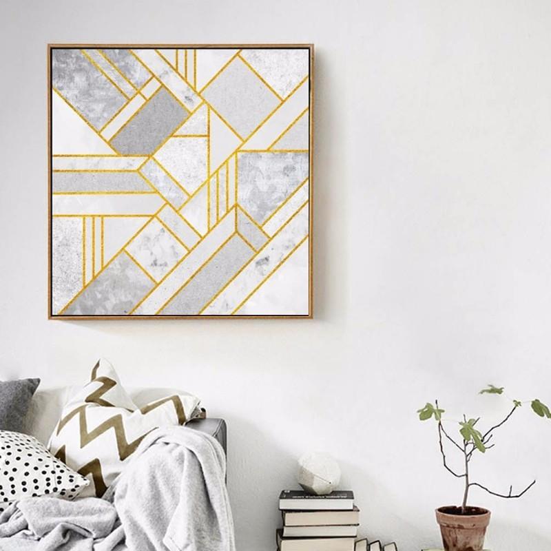 Pintura-em-Tela-abstrata-Geom-trica-Cinza-Ouro-Vermelho-N-rdico-Cartazes-Retrato-Da-Arte-Da (3)