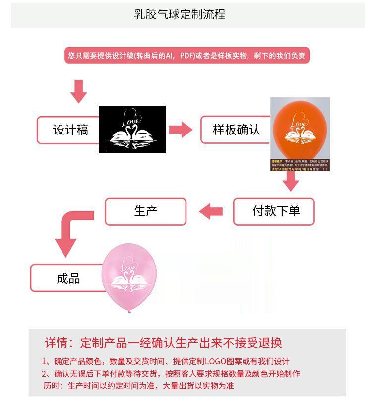 乳胶气球定制