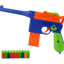 LNL Toy Pistol Soft bullet Gun for Kids Shooter Game Outdoor Gun
