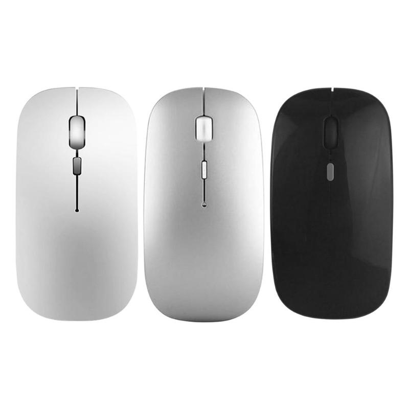 Wireless-Mouse Chargeable Optical Ultrathin Silent 1000 USB DPI 2 Lithium-Battery Built-In-400ma title=