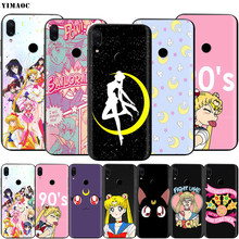 Чехол Sailor Moon для Xiaomi Redmi Note 4 4x 4a 5 5a 6 8 8A MI 9 9s 10 8T K30 Pro Max Lite Plus(Китай)