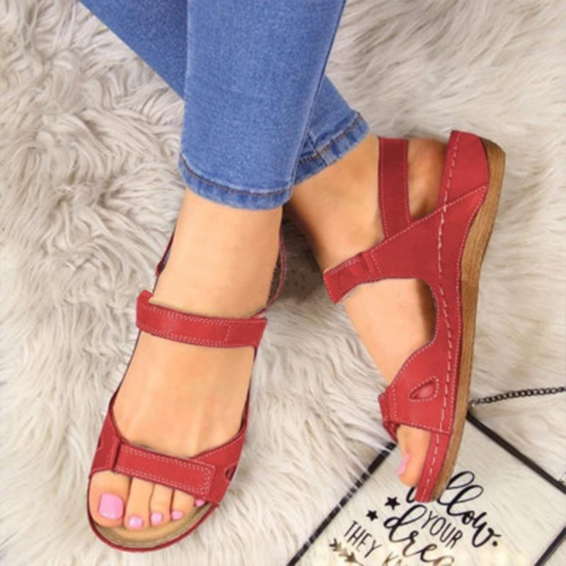Woman-2020-Summer-Leather-Vintage-Sandals-Buckle-Casual-Sewing-Women-Retro-Sandalias-Female-Lady-Platform-Shoes (2)
