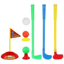 Club-Suit Golf Golf-Ball-Kit Kids R for Children Parent-Child-Toys ABS LIOOBO 1set Outdoor