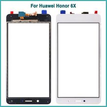 PKR 539 | New For Honor 6X TouchScreen For Huawei Honor 6X Touch Screen Panel Digitizer Sensor Front Outer Glass Lens