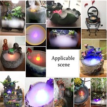 Air-Humidifier Fogger Adapter Water-Fountain Smoke 24V LED with Ultrasonic-Mist-Maker