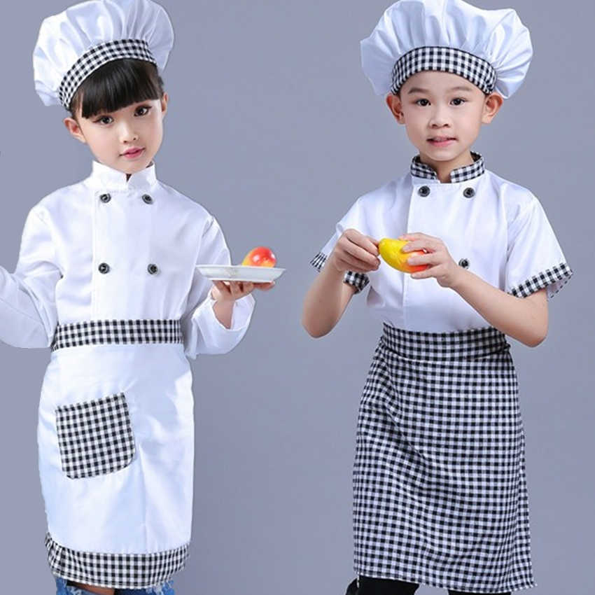Chef Kitchen Cook Child Fancy Dress Costume