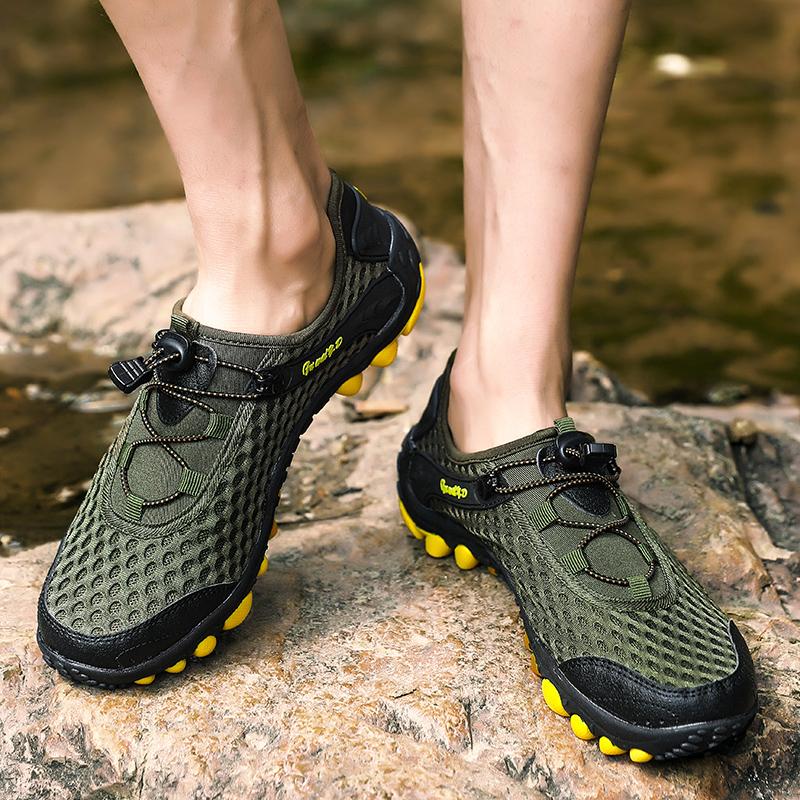 Aqua Shoes Ultra-light Quick-drying Beach Water River Walking 2019 Summer Men Mesh Breathable Flotillas Outdoor Hiking (28)