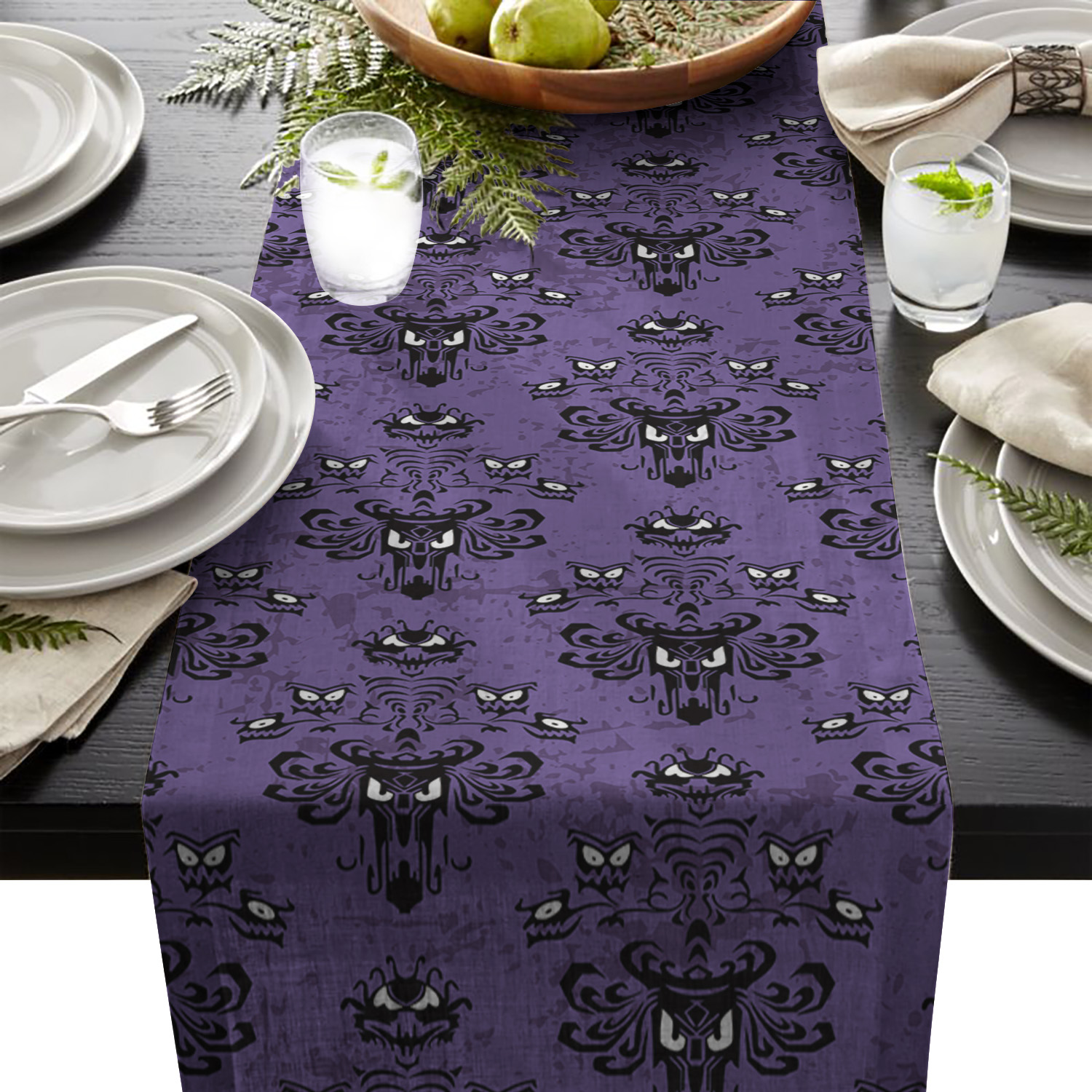Around The World Table Runner 183 cm Global Travel Party Tableware Decorations