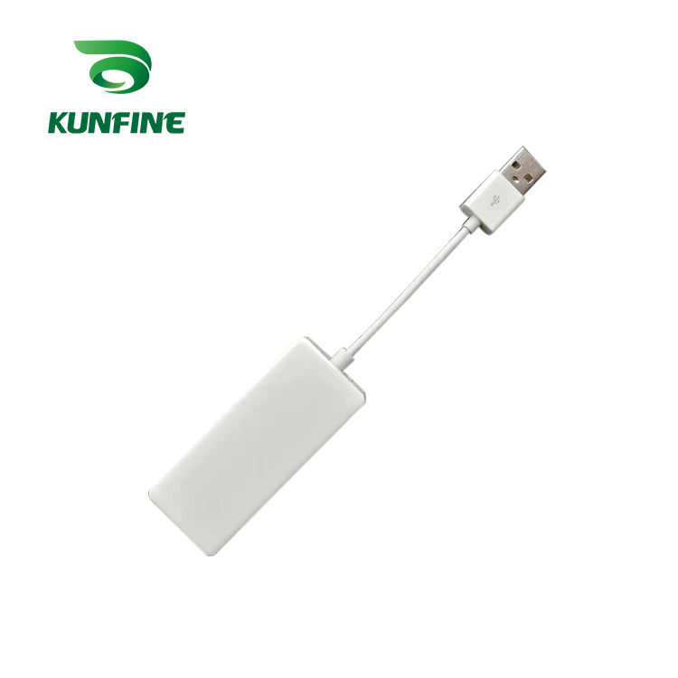 KUNFINE Wireless Wire Apple CarPlay Dongle for Android Car stereo Unit USB Carplay Stick with Android AUTO (7)