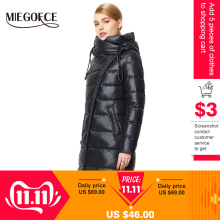 MIEGOFCE Coat Jacket Hooded Warm Parkas Winter-Collection Hight-Quality Fashionable Women's