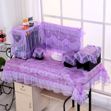 Computer-Tablecloth Dust-Covers Desktop 3pcs Household-Supplies Lace