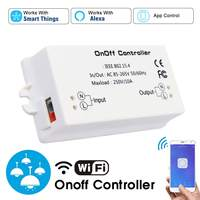 Wireless WiFi Switch ON/Off 10A With SmartThings/Alexa APP Smart Home Module smart home homekit for alexa amazon home automation