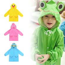 Rainwear Funny Waterproof Children Rain-Suit Baby Kids New Hot Cute Cartoon for Multicolor