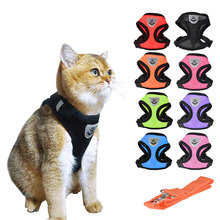 Pet Cat Dog Harness Small Medium Dog Collar Walking Lead Leash for Cat Puppy Harnesses