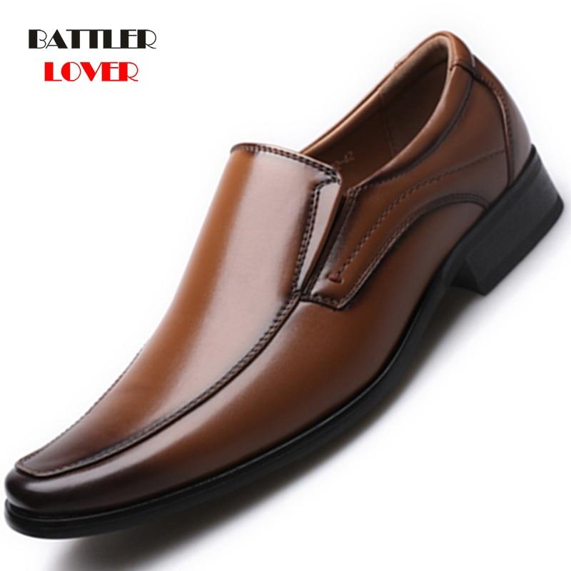2019 Mens Dress Party Shoes Luxury Brand Fashion Designer Loafers Breathable Flats Men Comfortable Banquet Shoes Plus Size 39-47