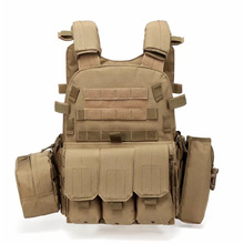 Armor Vest Paintball-Gear Jpc-Plate Military Airsoft Hunting Magazine Ammo