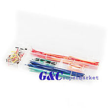 140pcs Solderless Breadboard Jumper Cable Wire Kit Box DIY diy electronics