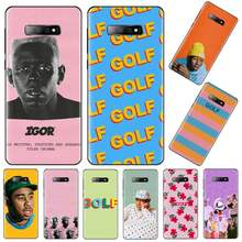 Чехол для телефона Tyler The Creator Flower singer, черный мягкий чехол для Samsung Galaxy S5 S6 S7 S8 S9 S10 S10e S20 edge plus lite(Китай)