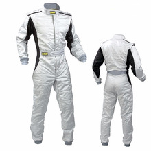 Karting Suit Overalls Clothing Motorcycle Racing Car Unisex Two-Layer Club Exercise Waterproof