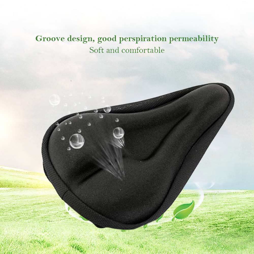 Clothing - Summer Bike Comfortable Cushion Cover Mountain Bike Thick 3D Seat Cover Outdoor Riding Accessories