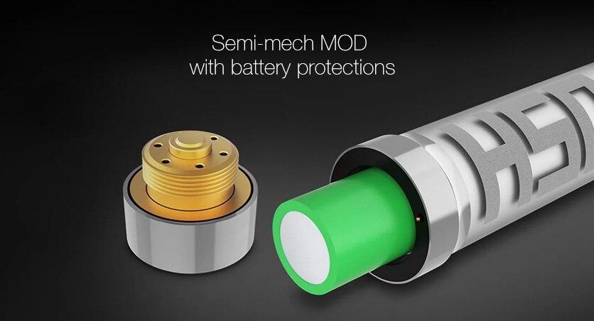 Acrohm Fush 18650 Semi-Mech MOD with Breath Light