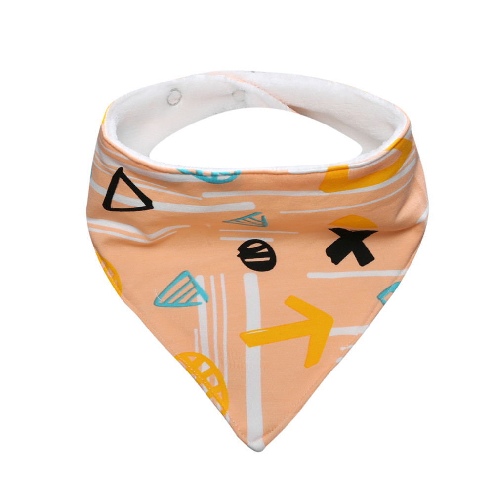 Baby bibs Boy girl baby bib triangle towel saliva High quality triangle  Print baby bandana bibs dribble bibs