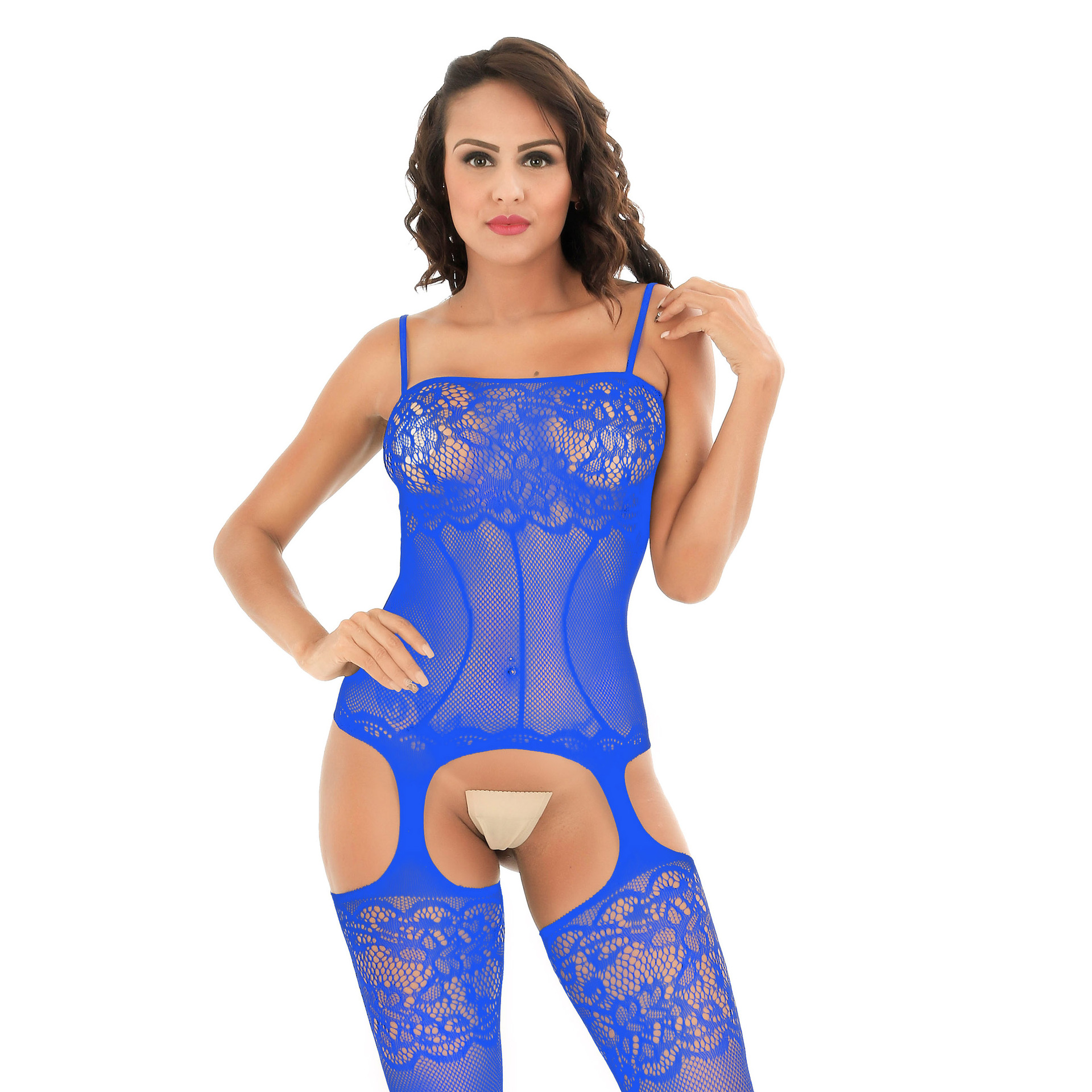 Sexy Fishnet Bodysuit Women Sex Clothes Transparent Open Crotch Bodystocking Erotic Lingerie Teddies One Piece Body Suits Tights