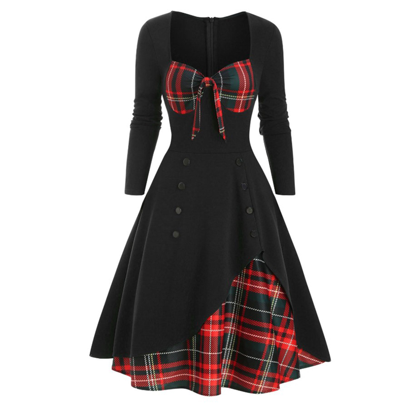 9269black with red plaid (1)