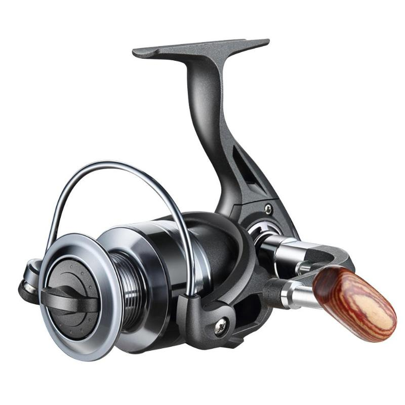 Fishing-Reels Spinning Folding Easy-Installation 12BB Rocker-Coil Durable title=