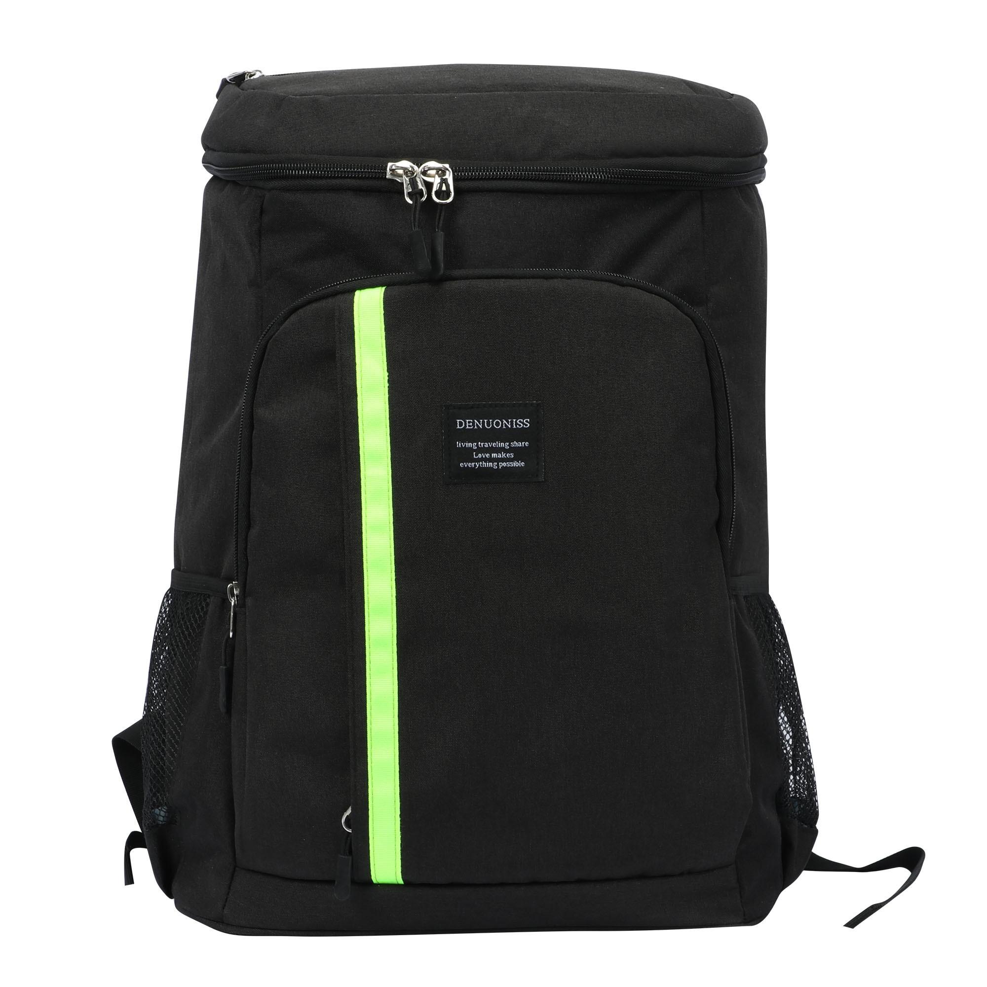 30L Large Storage Cooler Bag Women bag Ice Pack Waterproof Cooler Bag For Beer Insulation Thermal Bag  With bottle Opener
