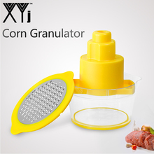 Corn Grater Corn-Scraper-Tool Kitchen-Tool Stainless-Steel Xyj with Fixed Measuring-Cup