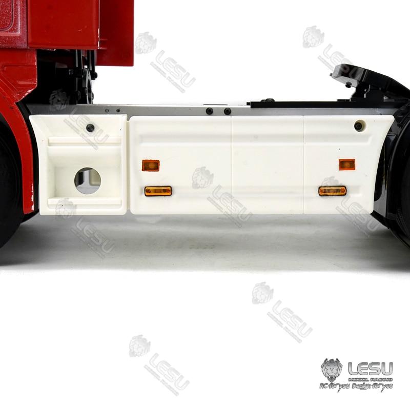 LED Side Marker Lights Side Skirts Lamp LESU 1//14 DIY TAMIYA 2Axle Tractor Truck