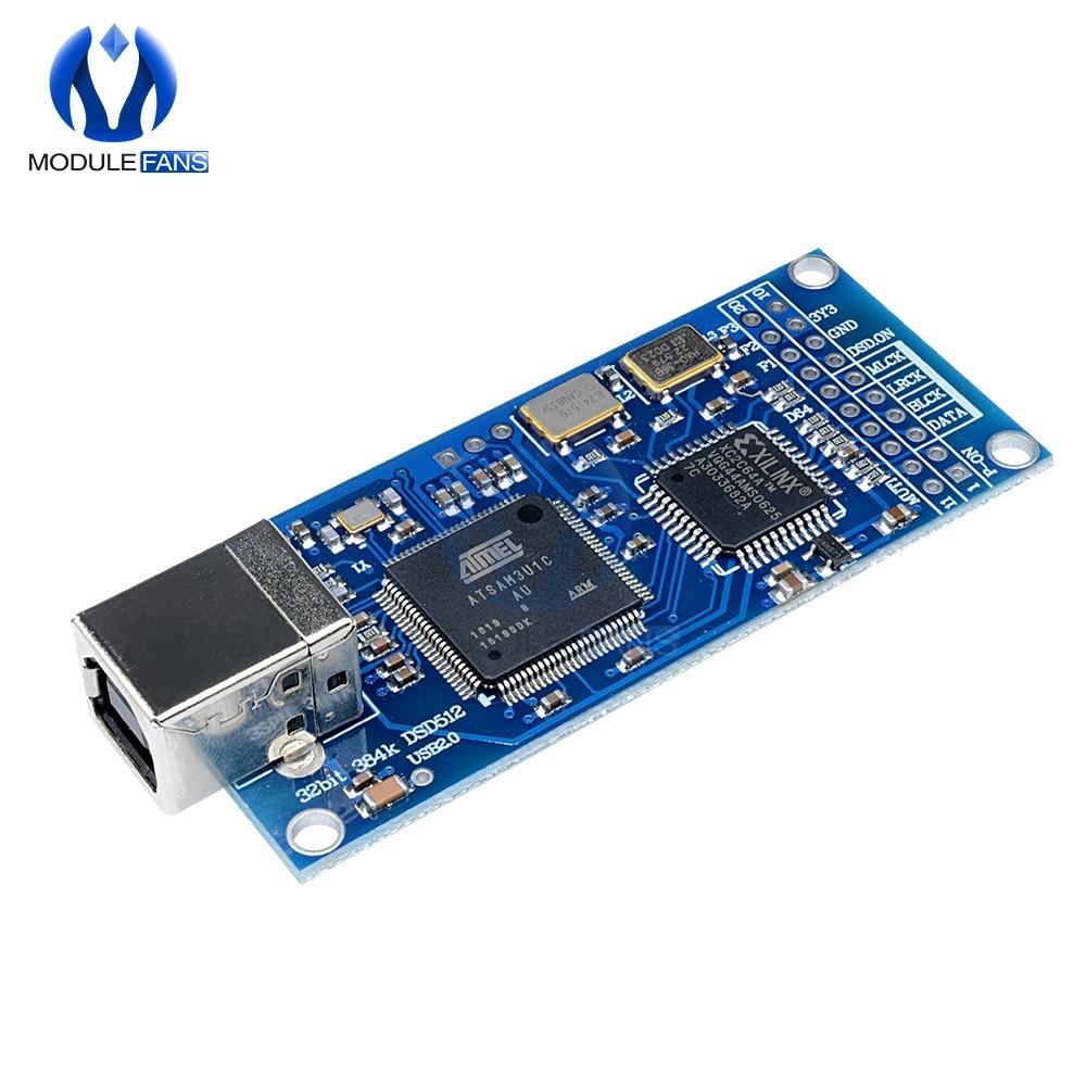 DU1 USB to IIS card base on Amanero usb iis card support dsd512,32b 384K New