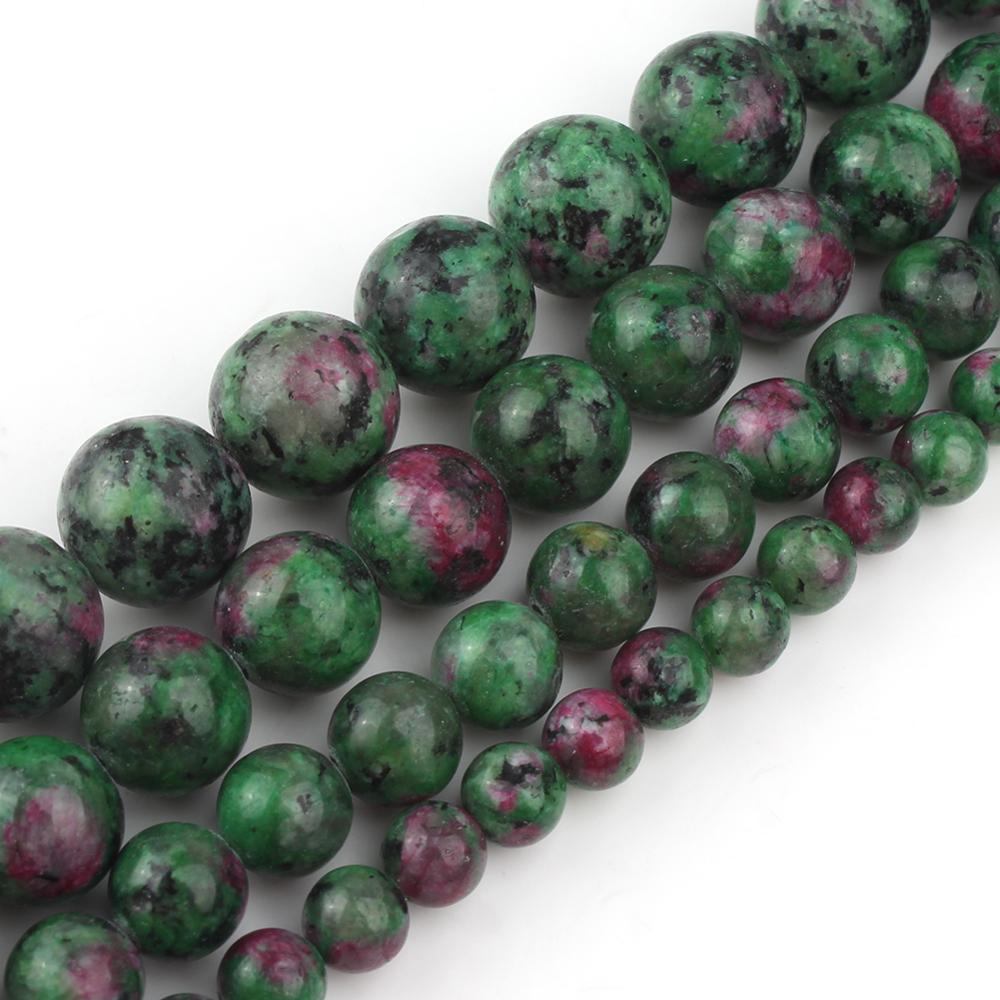 Miyuki Magatama seed beads 4 mm MA4-11 Argent doublé Ruby 24 g D35//5