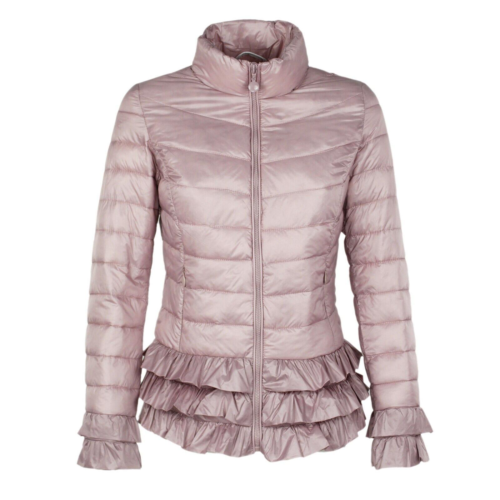 Prenda ligera y de abrigo Chaqueta mujer acolchada relleno y capucha ajustada