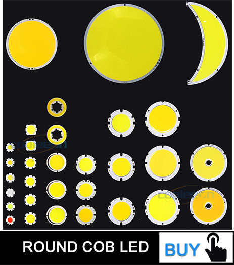 cob led light bulb 12v dc led lamp lighting strip round chip on board (2)