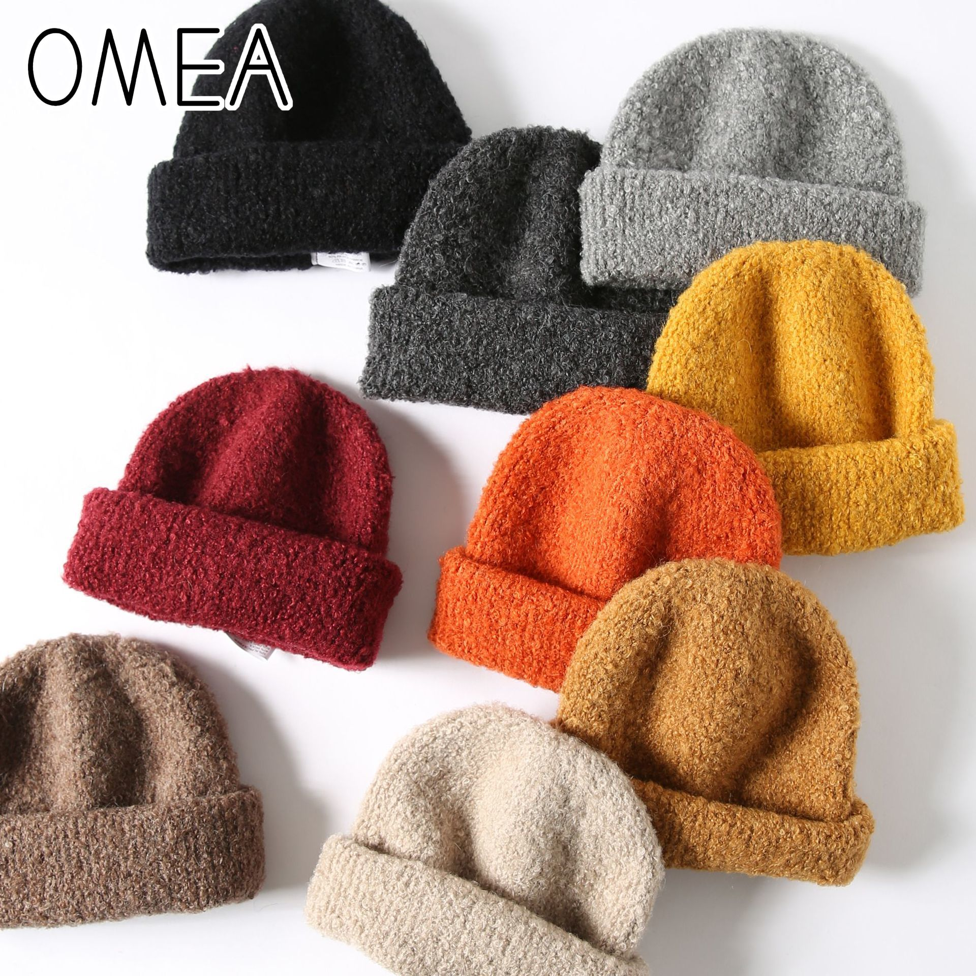 Egg Letter Rabbit Winter Wool Cap Warm Beanies Knitted Hat