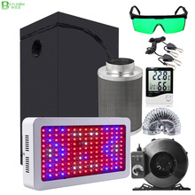 Complete-Kit FILTER Grow-Tent Indoor Led BEYLSION with Fan And