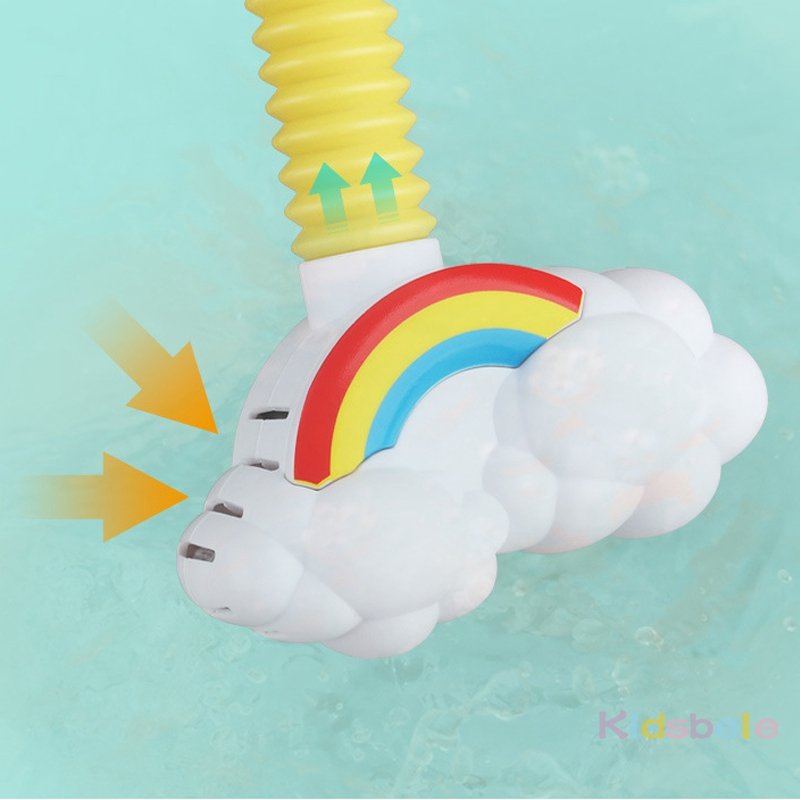 Bath Toys Baby Water Game Elephant Model Faucet Shower Electric Water Spray Toy For Kids Swimming Bathroom Baby Toys-07