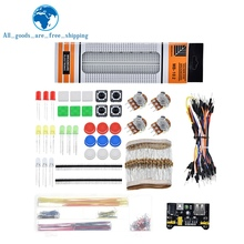 TZT generic parts package + 3.3V/5V power module+MB-102 830 points Breadboard +65 Flexible
