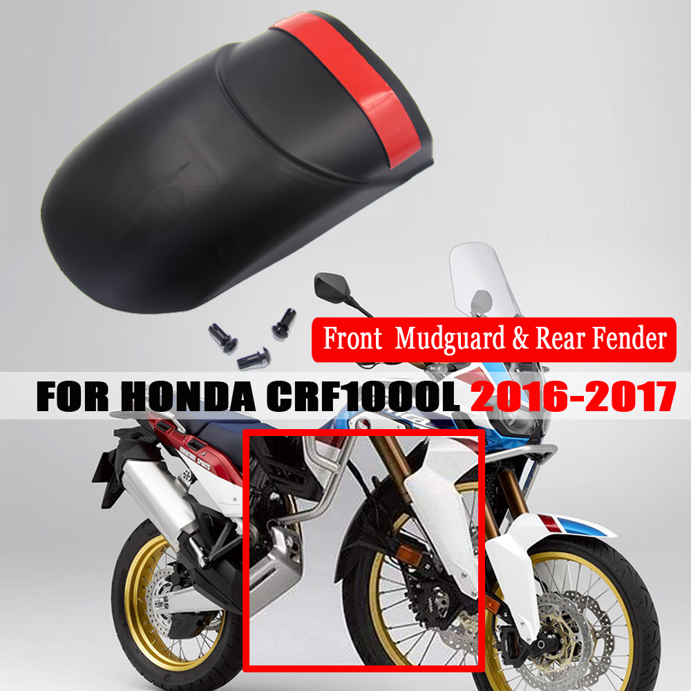 KKmoon Motorcycle Mudguard Front Mudguard Extension for Honda CRF1000L